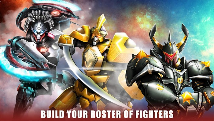 ultimate robot fighting apk mod indir