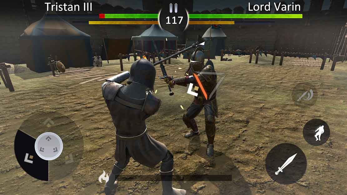 knights fight 2 android apk indir