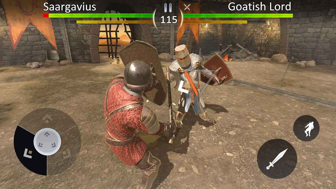 knights fight 2 mod apk indir