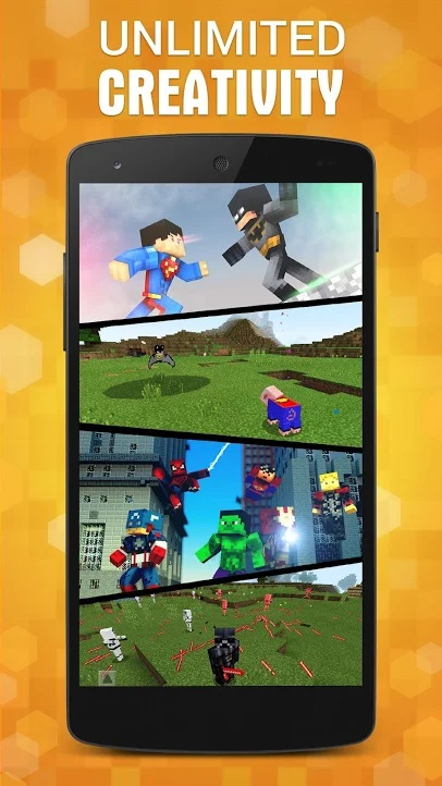 AddOns Maker for Minecraft PE apk indir