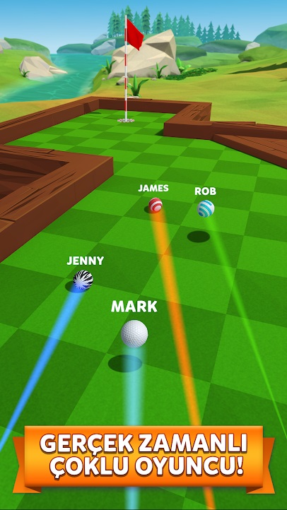 golf battle hileli apk indir