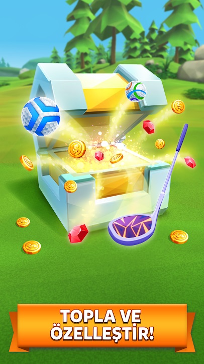 golf battle para hileli apk indir